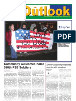 050118 Outlook Newspaper, 18 January 2005, United States Army Garrison Vicenza, Italy