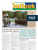 050607 Outlook Newspaper, 7 June 2005, United States Army Garrison Vicenza, Italy