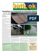 050628 Outlook Newspaper, 28 June 2005, United States Army Garrison Vicenza, Italy