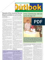 050809 Outlook Newspaper, 9 August 2005, United States Army Garrison Vicenza, Italy