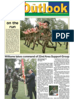 050816 Outlook Newspaper, 16 August 2005, United States Army Garrison Vicenza, Italy