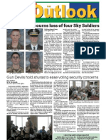 050830 Outlook Newspaper, 30 August 2005, United States Army Garrison Vicenza, Italy