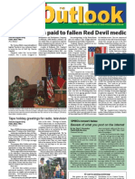 050906 Outlook Newspaper, 6 September 2005, United States Army Garrison Vicenza, Italy