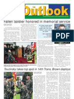 050913 Outlook Newspaper, 13 September 2005, United States Army Garrison Vicenza, Italy