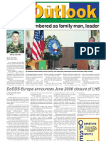 051011 Outlook Newspaper, 11 October 2005, United States Army Garrison Vicenza, Italy
