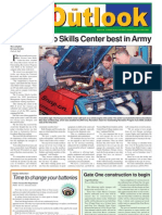 051108 Outlook Newspaper, 8 November 2005, United States Army Garrison Vicenza, Italy