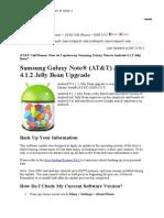panduan instal jelly bean di Note 1.doc