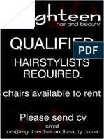 Stylist required