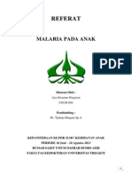 REFERAT MALARIA Ayukusumaningrum
