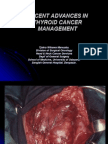 Recent Advances in Thyroid Cancer Management in Indonesia