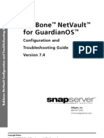 Snap Netvault Troubleshooting Guide 74