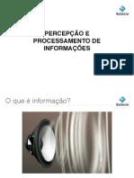 Arquitetura da Informação - processamento de informações