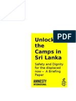 Unlock the Camps Embargoed Briefing Paper