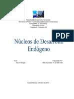 Núcleos de Desarrollo Endógeno