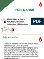 TRANSFUSI DARAH-Kuliah S1.ppt