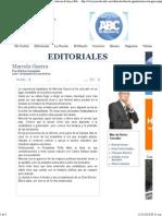11-11-13 Editorial Marcela Guerra por Héctor González