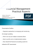 Financial Management Practical Aspects_Anania