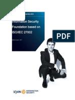 Preparationguide Information Security Foundation European Spanish