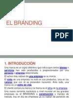 Diapositiva Branding