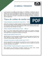 CELDAS DE MEDIA TENSIÓN