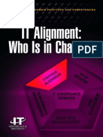 IT Alignment Who is in Charge