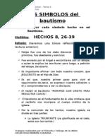 Tema 5 - Los Simbolos Del Bautizo