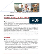 Pet Food Report 05-07