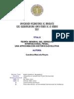 Derecho Internacional Penal Evolucion