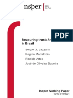 Lazzarini_Measuring Trust an Experiment