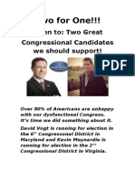 Two great Candidates   
