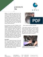 Borax Replacing Mercury in Small Scale Mining