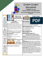 november 11-15 newsletter