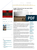 Insight_ China Turf War Over Yuan Reform Rattles Foreign Firms _ Reuters