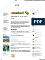 Consumibles Sin Billetes Farm. - Cheats in Games