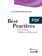 Best Practices for Guiding Childrens Behaviour