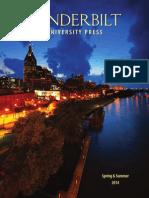 Vanderbilt University Press Spring/Summer 2014 Catalog