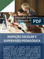 Pós-graduação em Inspeção Escolar e Supervisão Pedagógica - Grupo Educa+ EAD