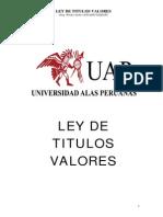 SEPARATA TITULOS VALORES