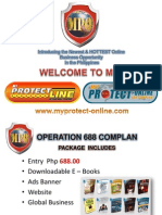 myprotectline - online ppt presentation lower version