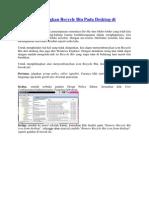 Cara Menghilangkan Recycle Bin Pada Desktop di Windows 7.docx