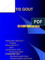 Arthritis Gout (Dr. Arief Fadilah, SpPD)