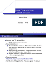 Advances Data Structures