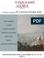 Catalogue vente aux enchères Chochon, Drouot (Paris) le 21/11/13
