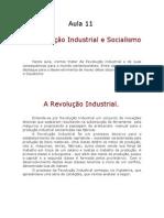 História - Aula 11 - Revolução Industrial e Socialismo