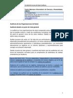 Auditoría de las Organizaciones de Salud