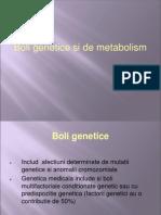 Pediatrie - boli genetice si de metabolism