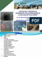 Importancia y Beneficios de la aplicabilidad de la Geomecánica, en la operacion de Mina Julcani