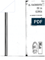 Foucault El nacimiento de la clínica