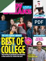 Study Breaks Magazine, November 2013- SA