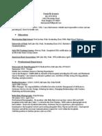 danielle jensen resume 2013